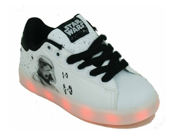 Zapatilla Addnice Led Usb Star Wars Corodon Blanco Deporfan