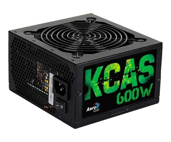Fonte Aerocool Kcas 600w Full Range 80 Plus Bronze En53374