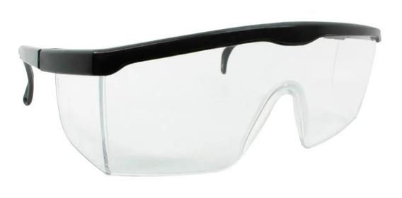 Óculos De Segurança Modelo Rj Incolor