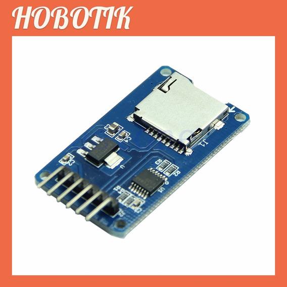 Módulo Cartão Micro Sd Card Cartão Sd Arduino Pic
