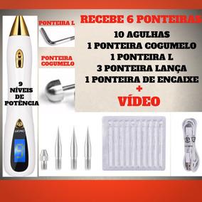 Jato De Plasma Lcd Promocional 9 Níveis + 3 Ponteiras Lança