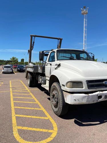 Camion Ford 14000 Con Porta Volquete