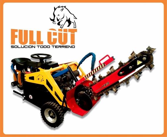 Zanjadora Hidraulica Para Full Cut Hidrostatica