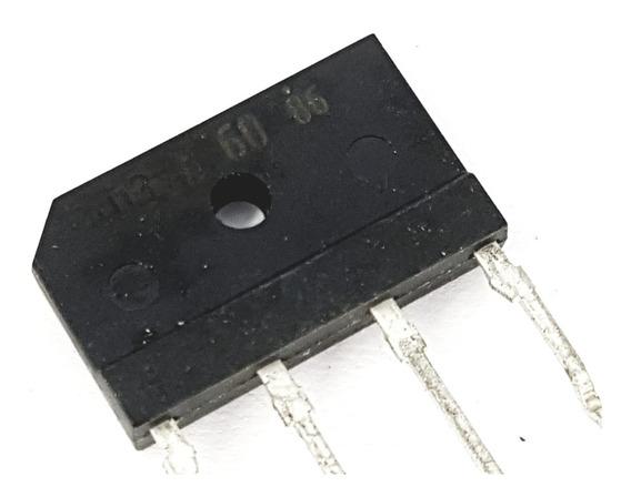 Ponte Retificadora 3a 600v D3sb-60 10 Peças