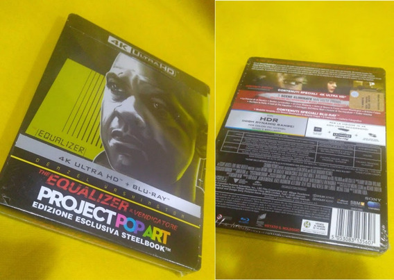 Equalizer 4k Ultra Hd + Blu-ray