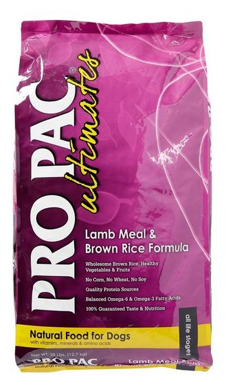 Comida Perro Pro Pac Adulto Cordero/arroz 12 Kg + Env