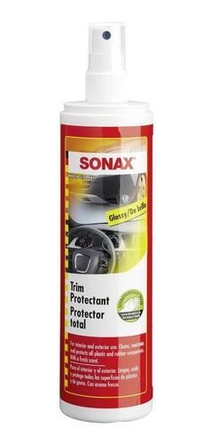 Sonax Protector Plastico Goma Brillo Interior Exterior 300ml