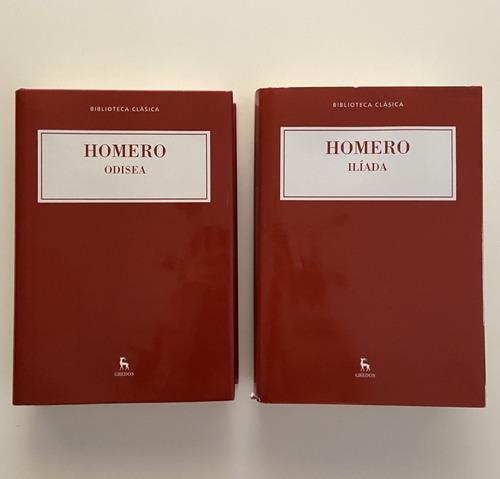 La Ilíada Y La Odisea - Homero - Gredos