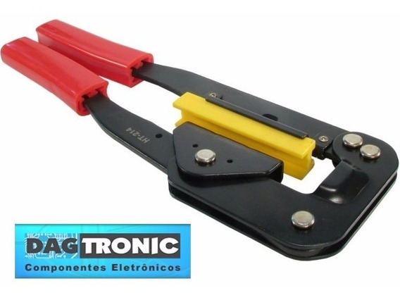 Alicate Para Crimpar Conector Latch Idc Idsc Em Flat Cable