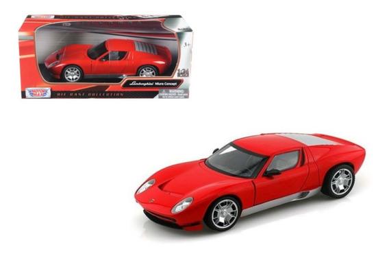Auto Lamborghini Miura Concept 1/24 Colección Motormax