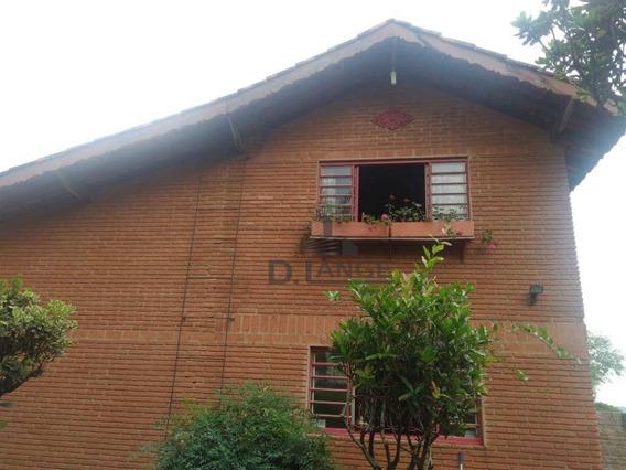 Chácara Com Lindo Paisagismo, Lago De Carpas, 2 Dormitórios À Venda, 1212 M² Por R$ 530.000 - Village Campinas - Campinas/sp - Ch0406