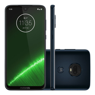 Smartphone Motorola Xt1965 Moto G7 Plus 64gb Índigo 4gb Ram