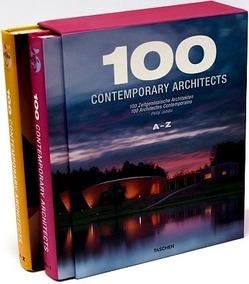 Livro 100 Contemporary Architects A - Z (box Com 02 Volumes)