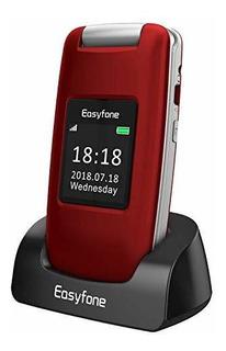Easyfone Prime A1 3g Desbloqueado Senior Flip Cell Teléfono