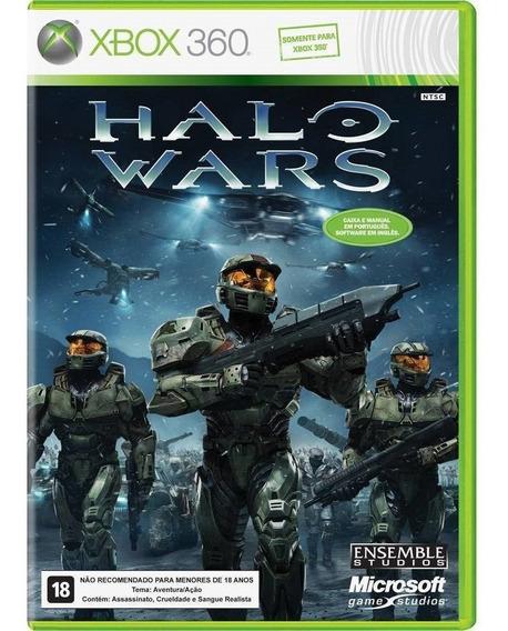 Halo Wars Xbox 360 Original Novo Lacrado