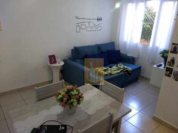 Apartamento Com 2 Dormitórios Para Alugar, 48 M² Por R$ 750,00/mês - Jardim São Miguel - Ferraz De Vasconcelos/sp - Ap0120