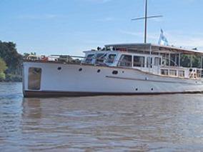 Crucero De Madera Baader Reformado Para Vivir
