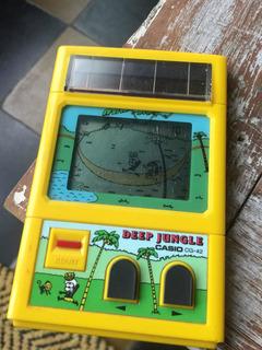 Casino Lcd Deep Jungle,solar 1984 No Game Watch Nintendo