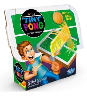 Tiny Pong Juego De Tenis Individual Hasbro Gaming
