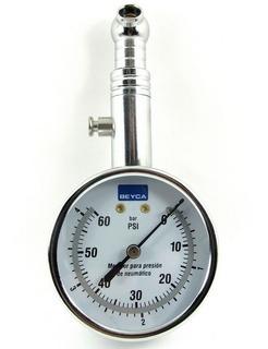 Manometro Medidor De Presion Control Aire Neumaticos