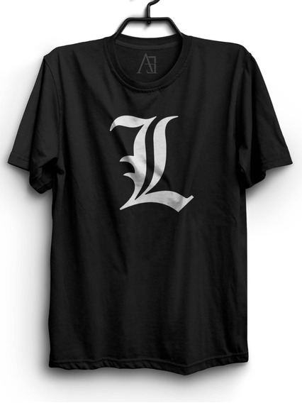 Camiseta Anime Death Note L Lawliet Camisa Anime