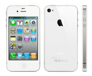 iPhone 4 8gb Branco Original Ios Não Atualiza Usado Barganha