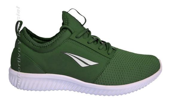 Zapatillas Penalty Rio Running Correr Original Urbano Verde