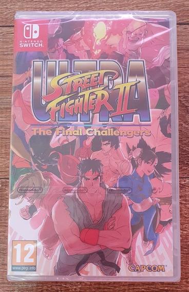 Jogo Street Fighter 2 Ultra Nintendo Switch