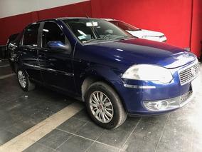 Fiat Siena Naftero 1.4 Elx Aire Direccion Azul Tomo Usados