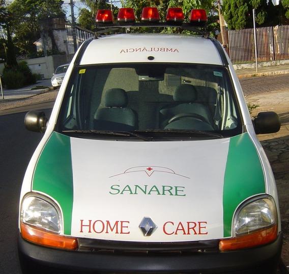 Ambulância Simples Renault Kangoo 2001 Excelente Estado