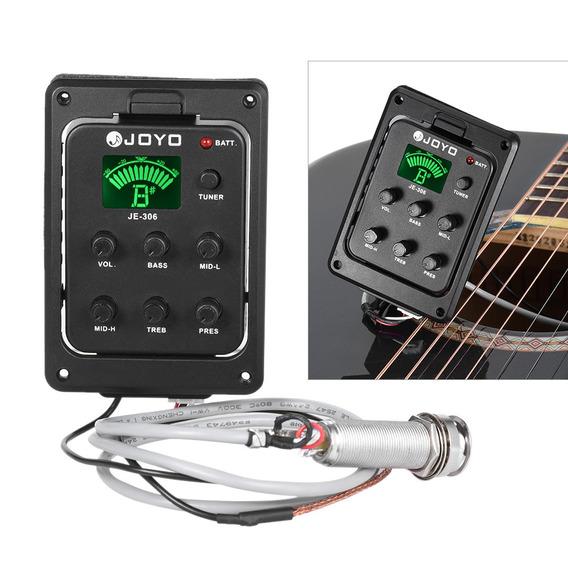Joyo Je-306 5-band Eq Equalizador Guitarra Ac??stica Piezo