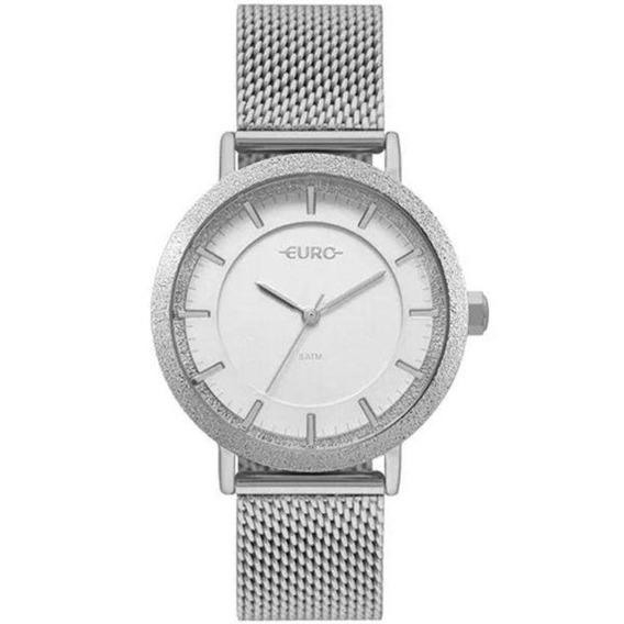 Relógio Euro Feminino Construções Prata Eu2039jk/3k
