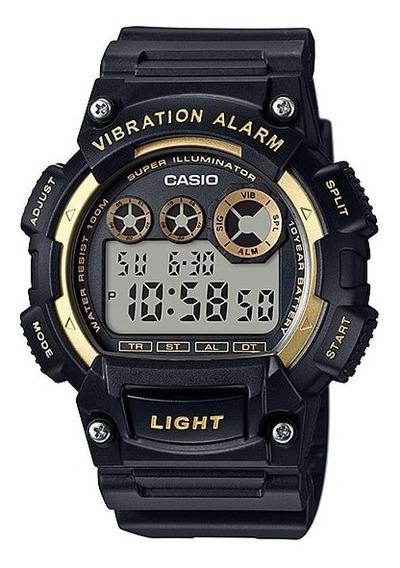 Relógio Casio Digital W-735h-1a2vdf - Original