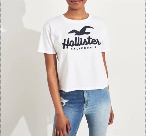 Playera Hollister Original!!wht2