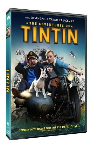 Las Aventuras De Tintin Pelicula Dvd