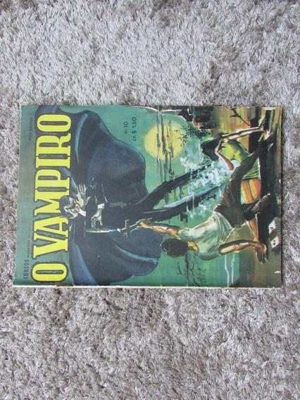 O Vampiro 10 - Contos Magazine - Rara