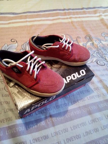 Zapatos Para Niño Apolo Talla 28,,, 7 Verdes