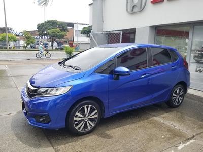 Honda Fit Ex Aut. 2018 Azul Sport Brillante