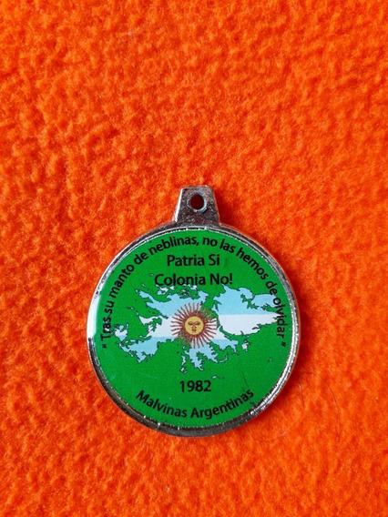 Medalla Islas Malvinas Patria Si Colonia No