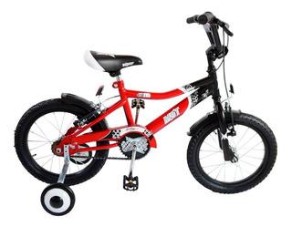 Bicicleta Nene Musetta Viper Rodado 16 Roja - Racer Bikes