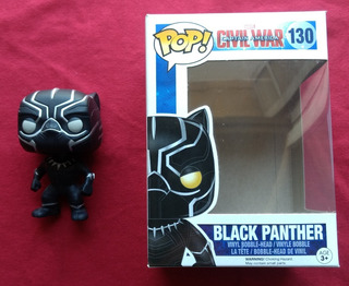 Funko Pop! Marvel Civil War Black Panther 130 Original