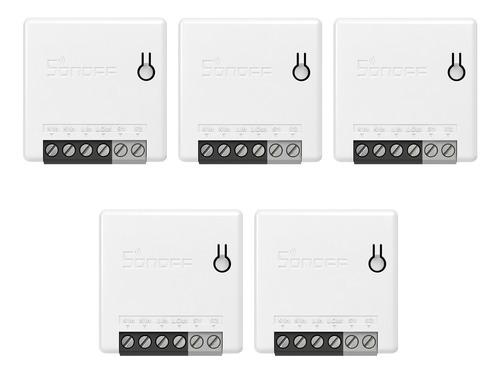 Imagen 1 de 9 de 5 Unidades Sonoff Minir2 Itead Bricolaje 2 Vías Wifi Smart S