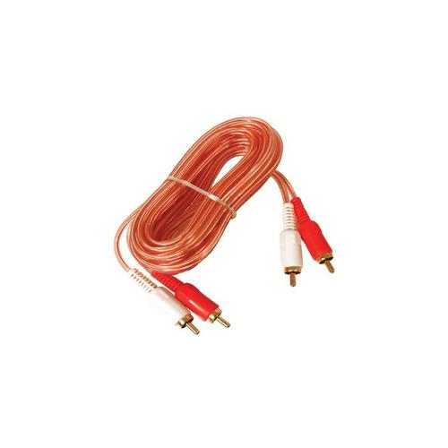 Cable 2x2 Rca Oxigenado De 1.80 Mts