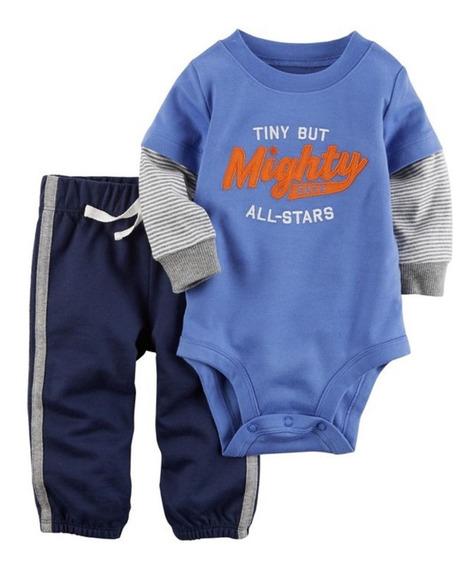 Conjunto Carters 2 Piezas Mighty Para Bebé Envio Full Msi