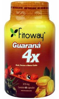 Inativo Guaraná 4x 60cps 470mg Fitoway