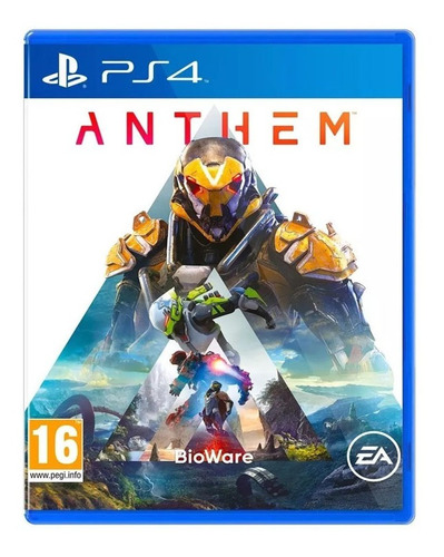 Anthem Ps4 Físico Sellado Local Al Publico Playstation 4