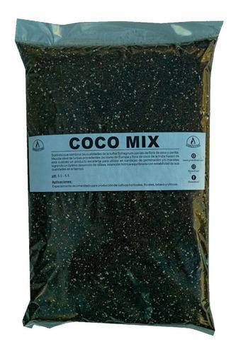 Sustrato Para Cultivo Coco Mix 10lt