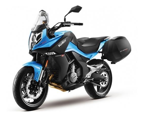 Cf Moto 650 Mt 0km Linea 2020 Abs Valijones Defensas