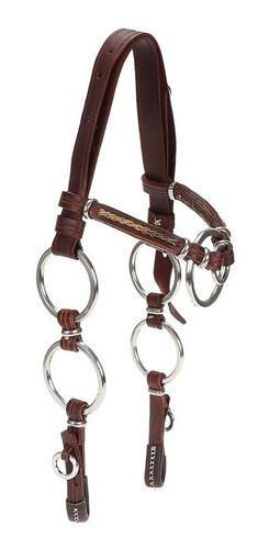 Cabeçada Para Cavalo Com Testeira E Argolas  - A Pantaneira