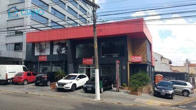 Salão Comercial Para Locação, Mooca, São Paulo - Sl0049. - Sl0049